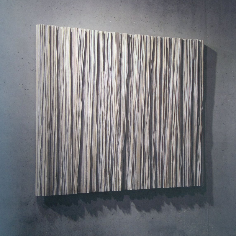 Gregor Prugger - Rainfall - lime wood 155 x 130cm 2007